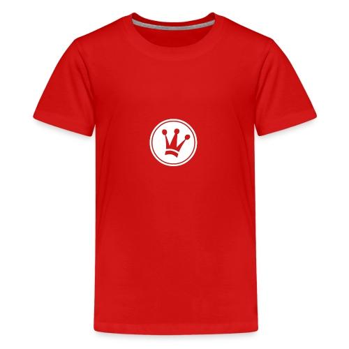 Couronne Blanche - T-shirt Premium Ado