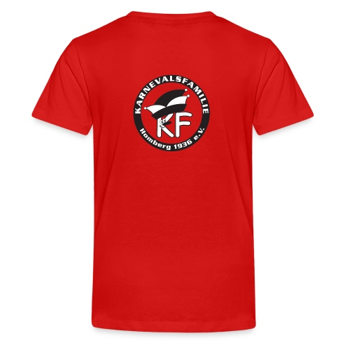 Karnevalsfamilie Homberg - Teenager Premium T-Shirt