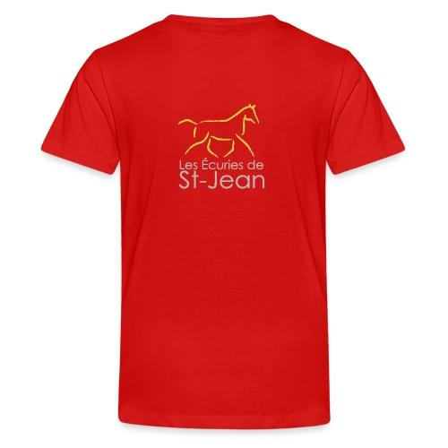 Ecuries de St Jean - T-shirt Premium Ado