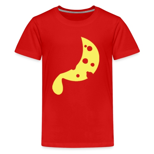 MOON ORIG 3000px - Teenage Premium T-Shirt