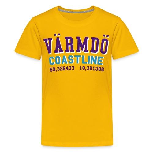 vaermdoe coast - Premium-T-shirt tonåring