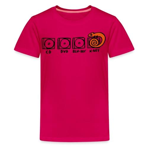 xnet vektormotiv - Teenager Premium T-Shirt