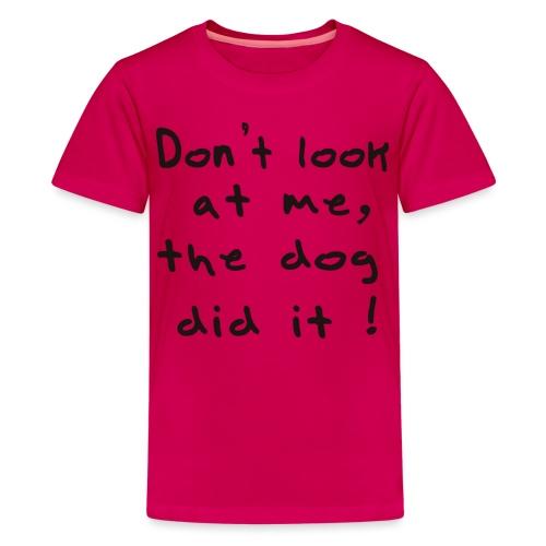 lookatme - T-shirt Premium Ado
