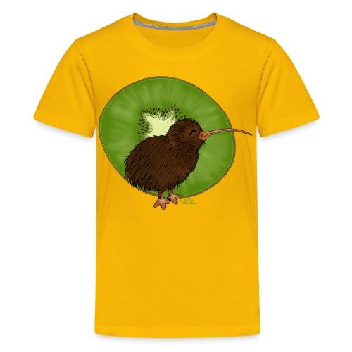 Kiwi² - Teenager Premium T-Shirt