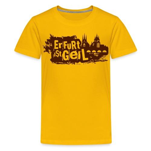 Erfurt ist geil mittel - Teenager Premium T-Shirt