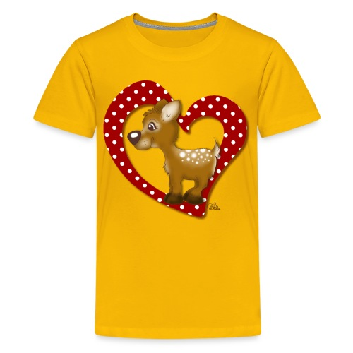 Kira Kitzi Fliepi - Teenager Premium T-Shirt