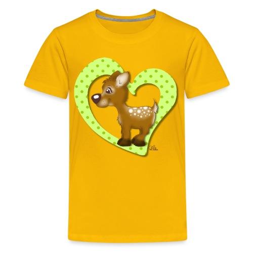 Kira Kitzi Limone - Teenager Premium T-Shirt