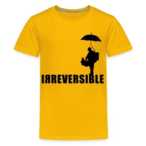 irreversible shirt logo 01 - Teenage Premium T-Shirt