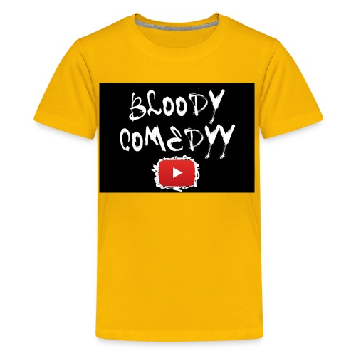 BloodyComedyy YT - Teenager Premium T-Shirt