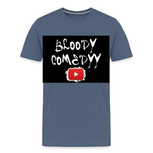 BloodyComedyy YT - Teenager Premium T-Shirt