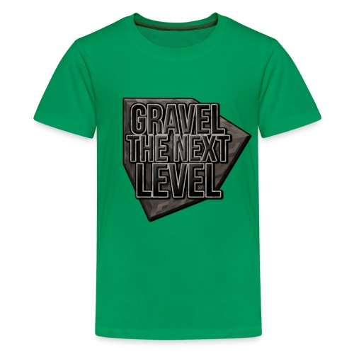 gravelthenextlevel png - Teenager Premium T-shirt