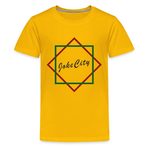 joke city logo - Teenage Premium T-Shirt