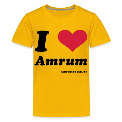 I Love Amrum - Teenager Premium T-Shirt