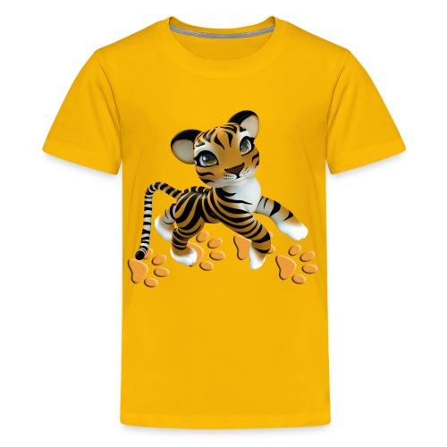 Kleiner Tiger - Teenager Premium T-Shirt