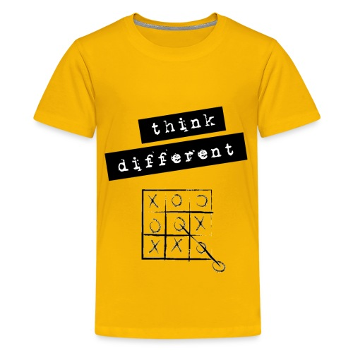 Think Different Tris - Maglietta Premium per ragazzi