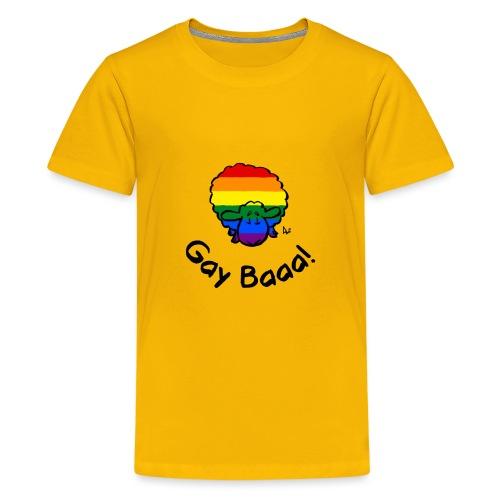Homosexuell Baaa! Regenbogen-Stolz-Schafe - Teenager Premium T-Shirt