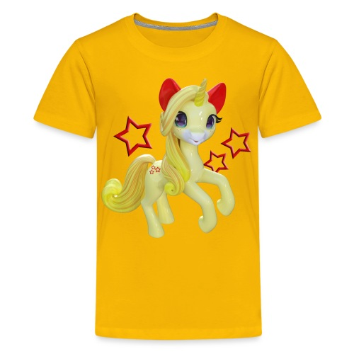 Einhorn in Fairyland - Teenager Premium T-Shirt