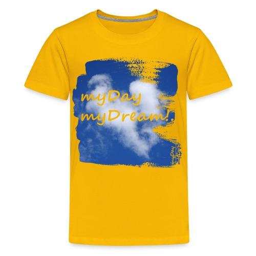 myDay myDream - Teenager Premium T-Shirt