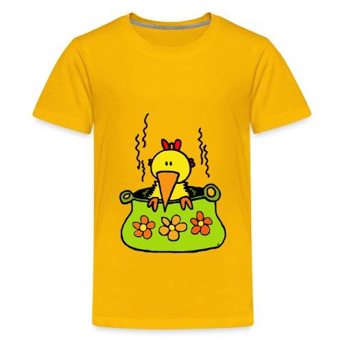 soepkip trans - Teenager Premium T-shirt