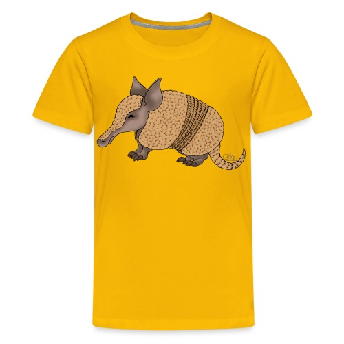 Armand Armadillo - Teenager Premium T-Shirt