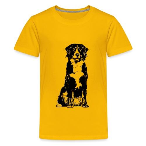 Berner Sennenhund Hunde Design Geschenkidee - Teenager Premium T-Shirt