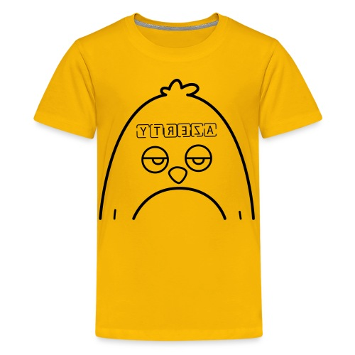 Azerty Syndrome - T-shirt Premium Ado