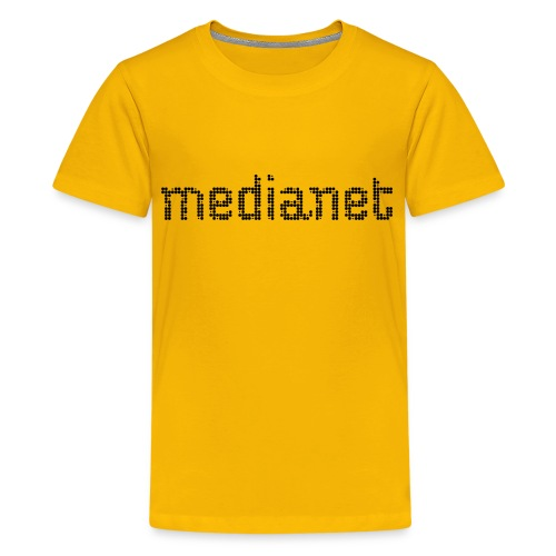 medianet Black - Teenager Premium T-Shirt
