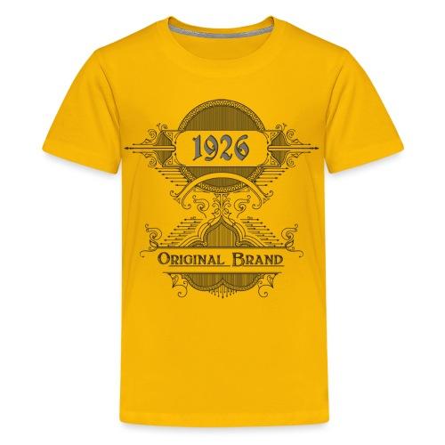 Vintage Original Brand - Teenager Premium T-Shirt