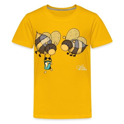 Hummelchen und Pummelchen - Teenager Premium T-Shirt