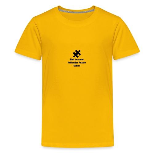 Puzzle Stein - Teenager Premium T-Shirt