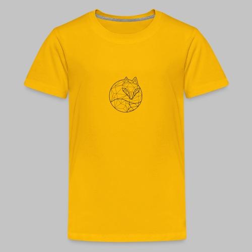 Fox Graph - Teenage Premium T-Shirt