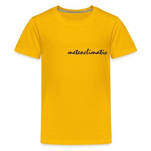 meteoclimatic - Camiseta premium adolescente