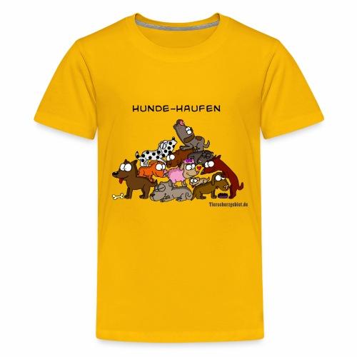 Hundehaufen - Teenager Premium T-Shirt