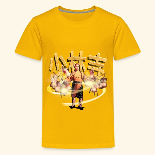 Gordon Liu as San Te - Warrior Monk - Teenager Premium T-shirt