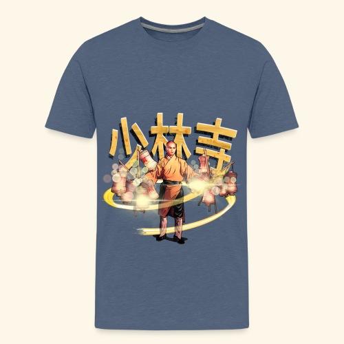 Gordon Liu as San Te - Warrior Monk - Teenager Premium T-shirt