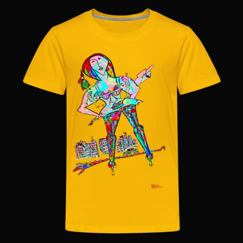 Wormstreet - Teenager Premium T-Shirt