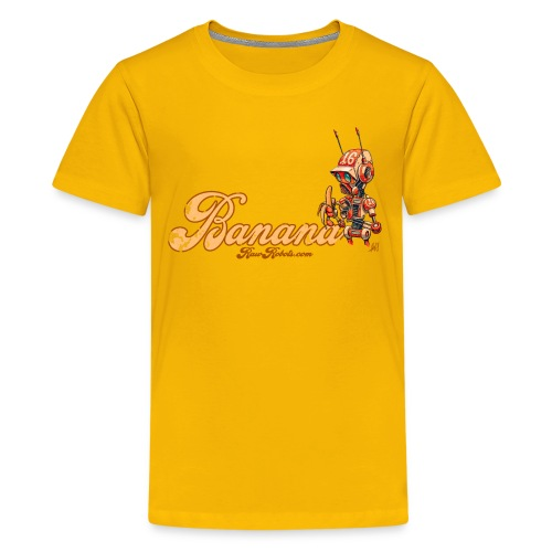 Banana Robot! 🍌 - Teenager premium T-shirt