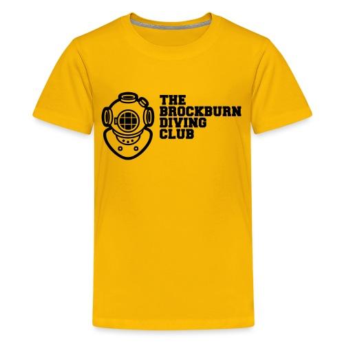 Brockburn Diving Club - Teenage Premium T-Shirt