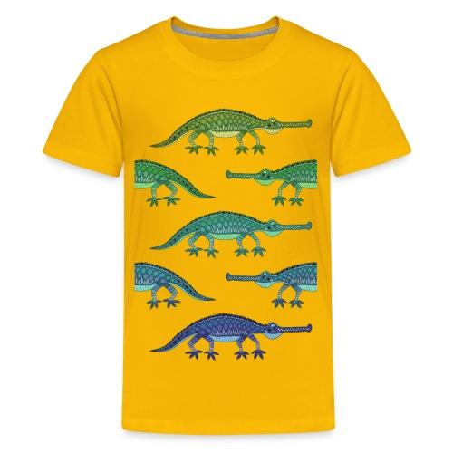 crokolores - Camiseta premium adolescente