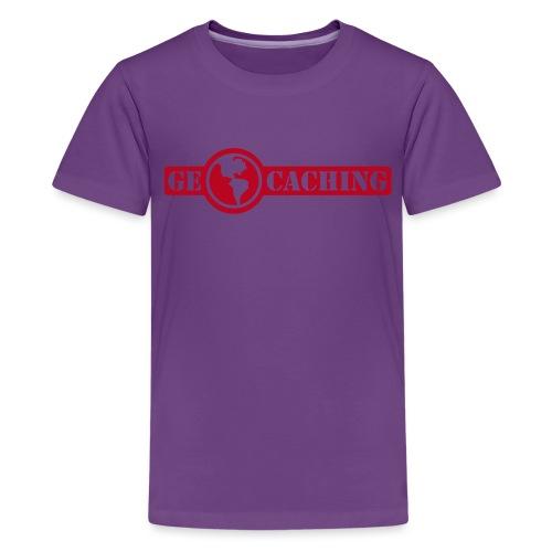 Geocaching - 1color - 2011 - Teenager Premium T-Shirt