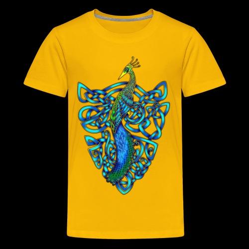 Peacock - Teenage Premium T-Shirt