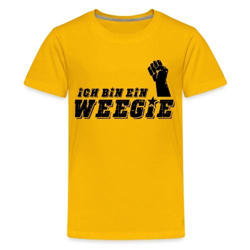 Ich Bin Ein Weegie - Teenage Premium T-Shirt
