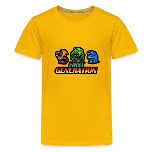 Collection Pocket Monster First Generation !!! - T-shirt Premium Ado