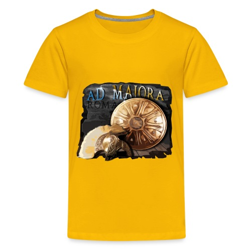 Roma - Ad Majora - Teenage Premium T-Shirt