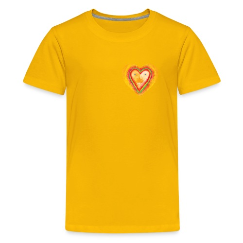 Heartface - Teenage Premium T-Shirt
