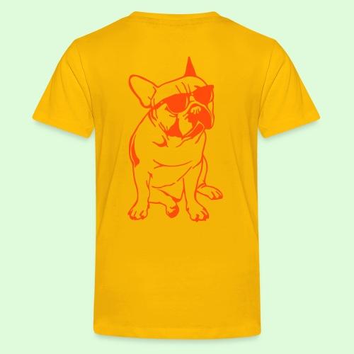 Bouledogues Français au soleil - T-shirt Premium Ado