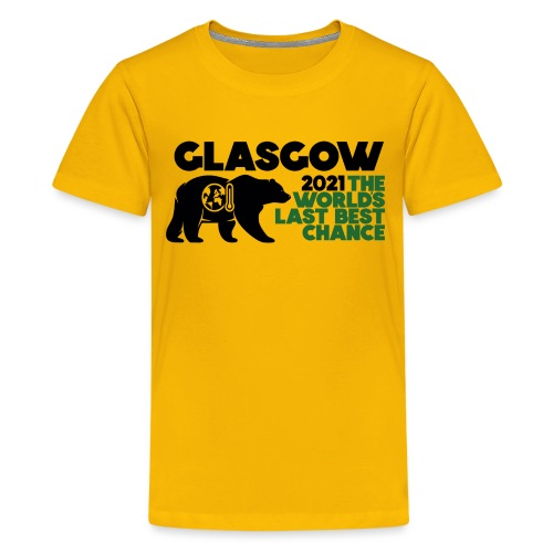Last Best Chance - Glasgow 2021 - Teenage Premium T-Shirt