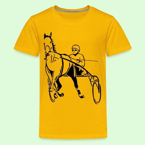 Le Trotteur Français - T-shirt Premium Ado