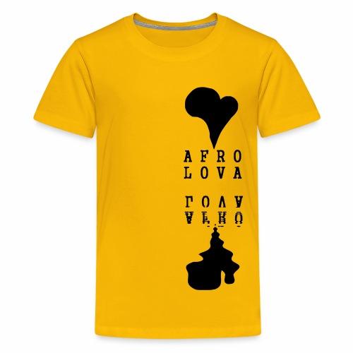 Reflet Afro Lova Rouge - T-shirt Premium Ado