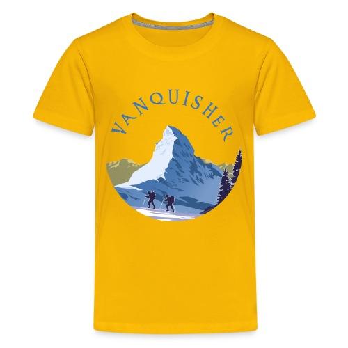 Vanquisher Matterhorn Switzerland Schweiz Suisse - Teenager Premium T-Shirt